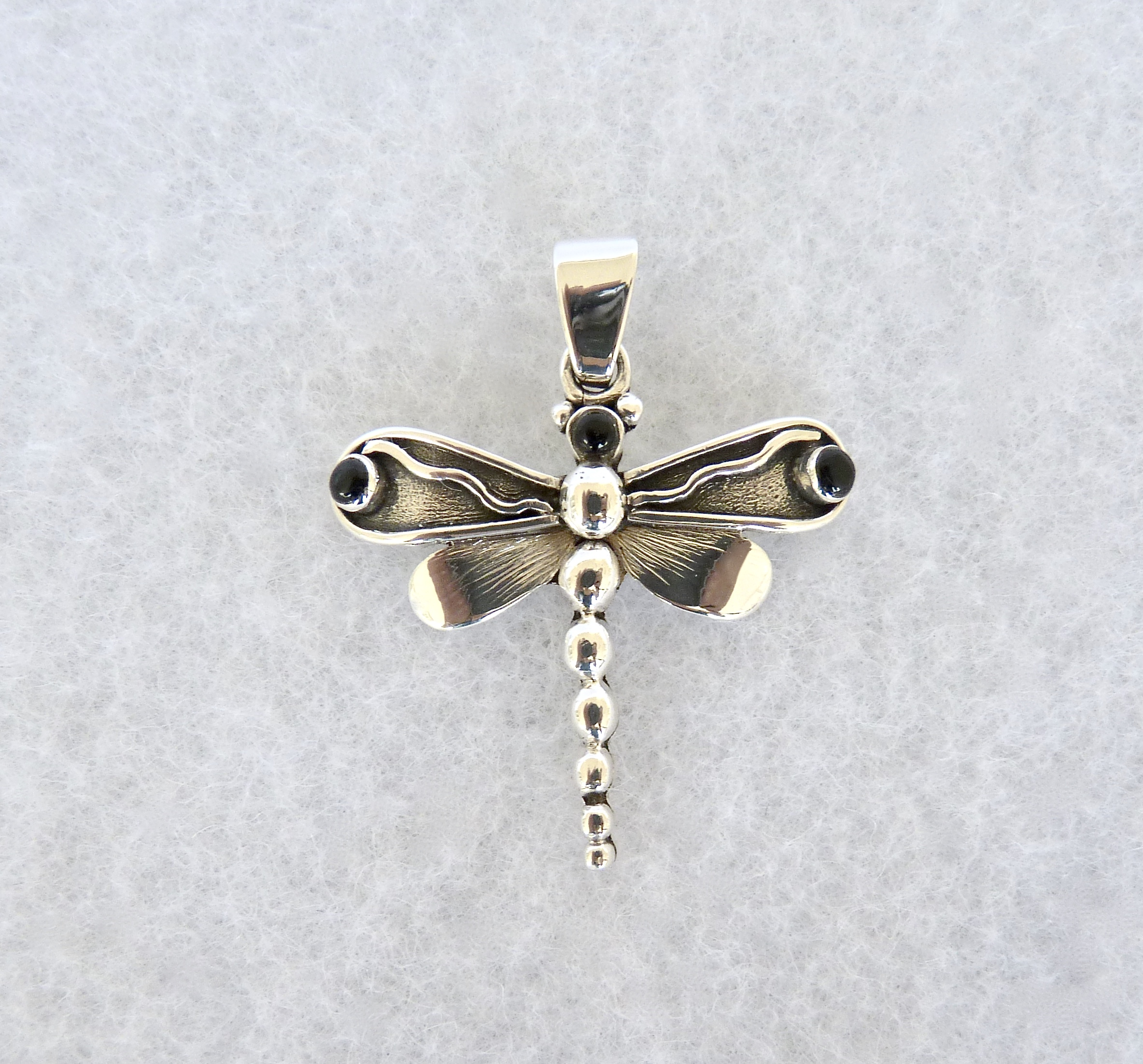 pendant silver dragonfly black diamond products shop abac uk online necklace sterling miadora spo